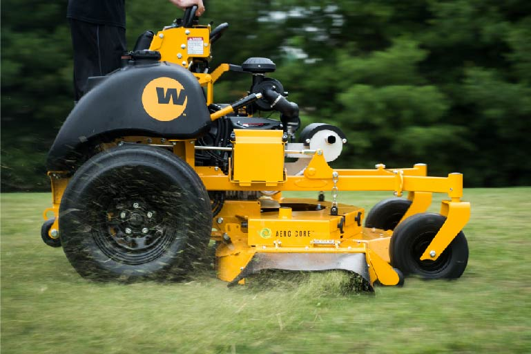 Stander ZK | Wright Commercial Stand-on Mowers