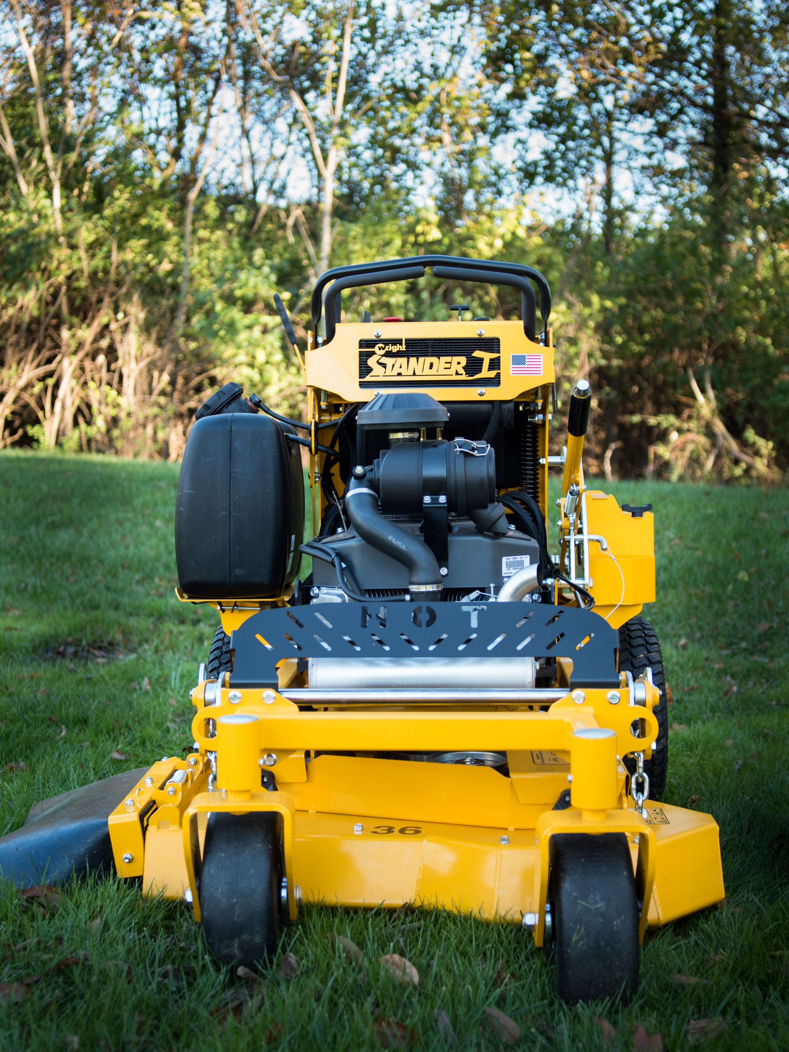 Stander I | Wright Commercial Stand-on Mowers