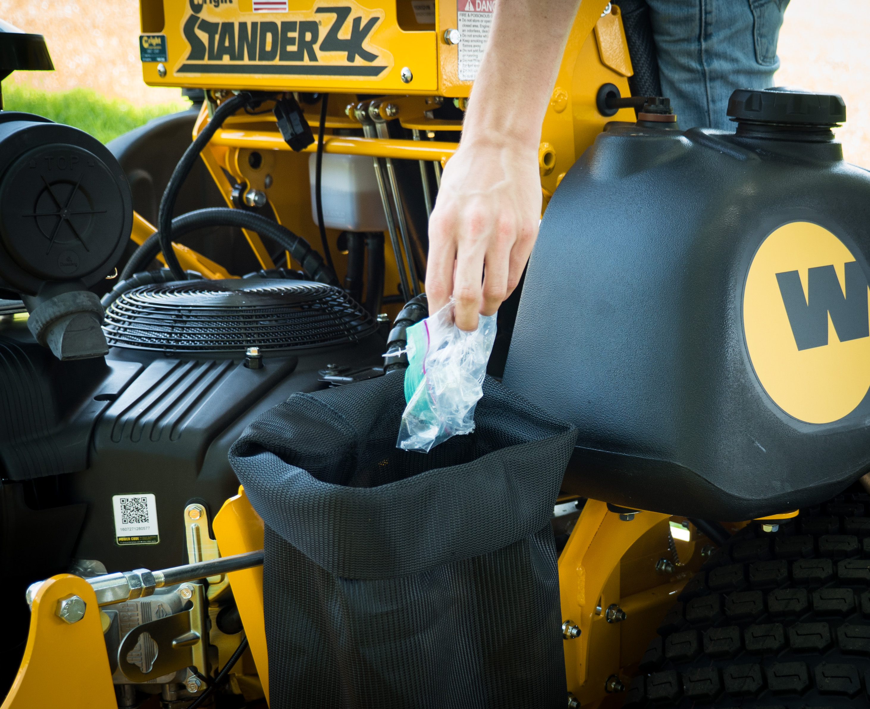 Stander ZK   Wright Commercial Stand-on Mowers